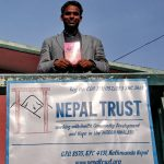 Lynne Tapper and Nepal Trust working together for education and literacy